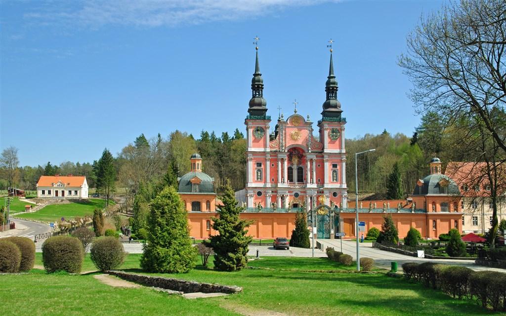 Kostel Swieta Lipka Masuria v Polsku