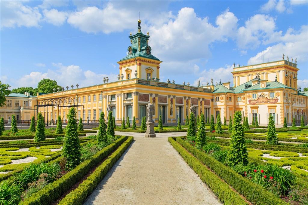 Královský palác Wilanow Varšava Polsko
