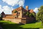 Hrad řádu německých rytírůve městě Malbork Polsko