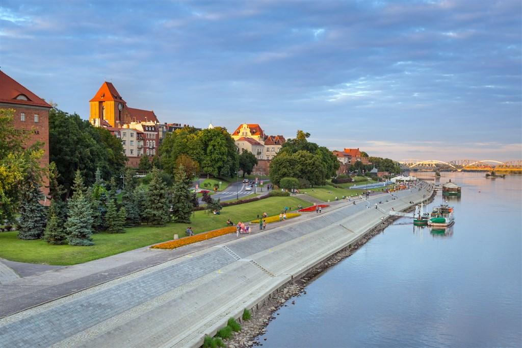 Město Torun - Polsko