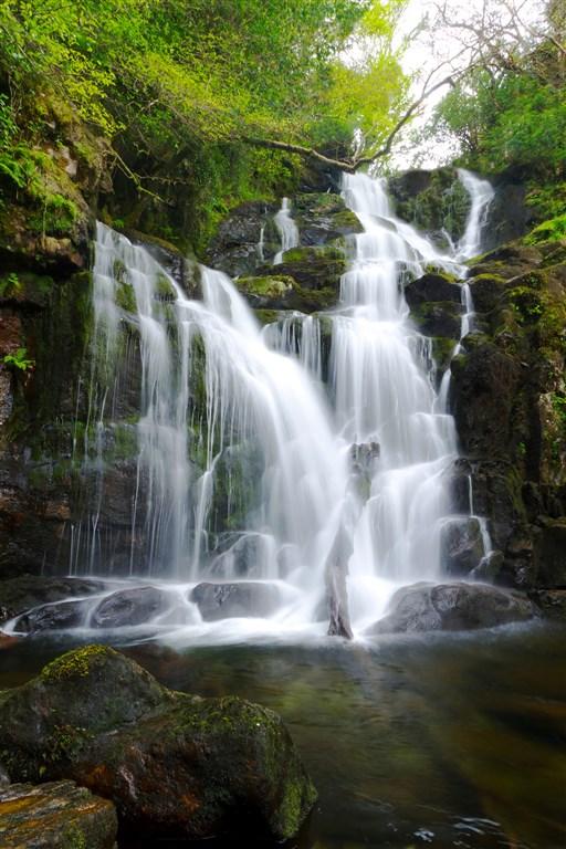 Vodopád Torc v Národním parku Killarney