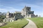Inchcolm Abbey - Firth of Fourth - Skotsko