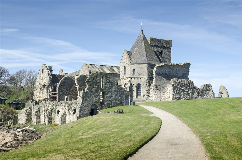 Inchcolm Abbey - Firth of Fourth - Skotsko