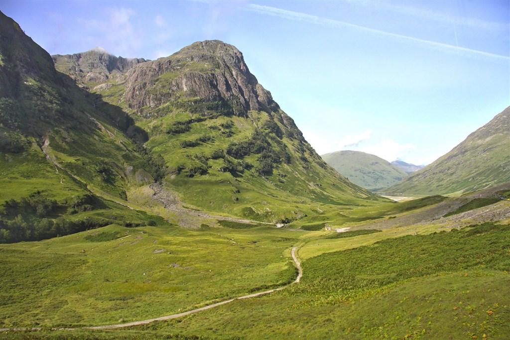 Glen Coe - Skotská vysočina
