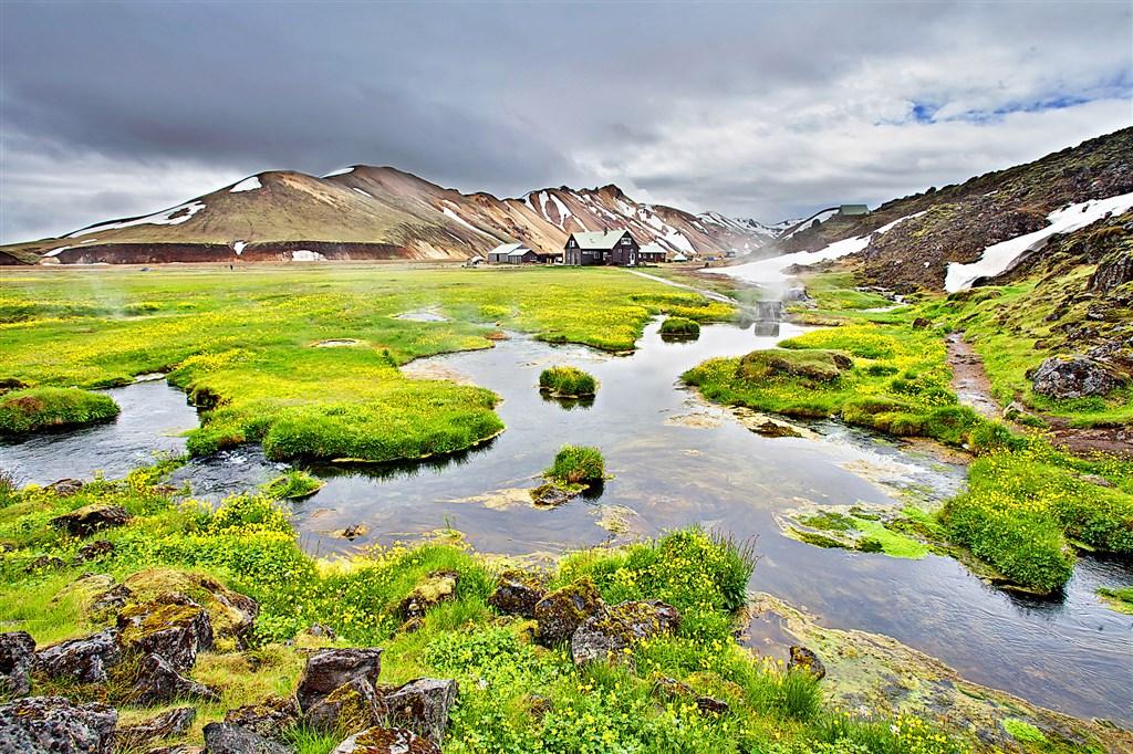 Národní park LANDMANNALAUGAR - Island
