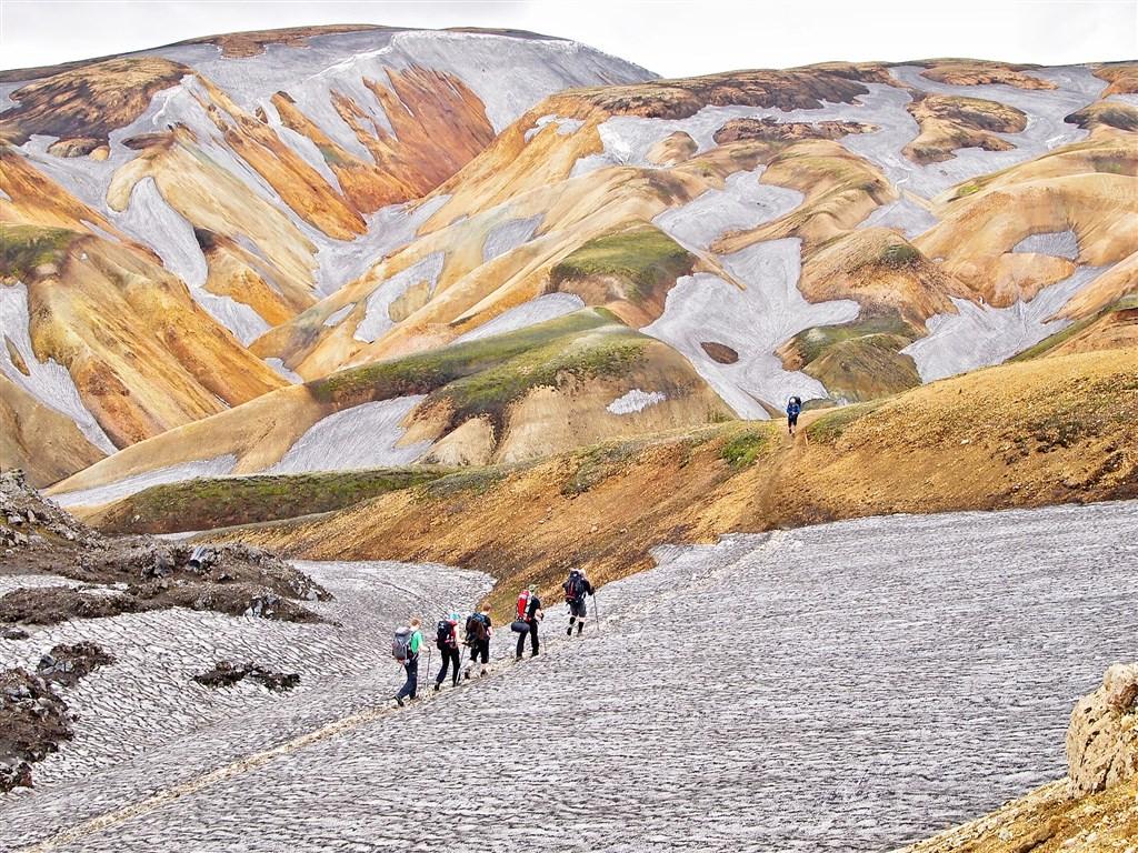 LANDMANNALAUGAR - Duhové hory - Island