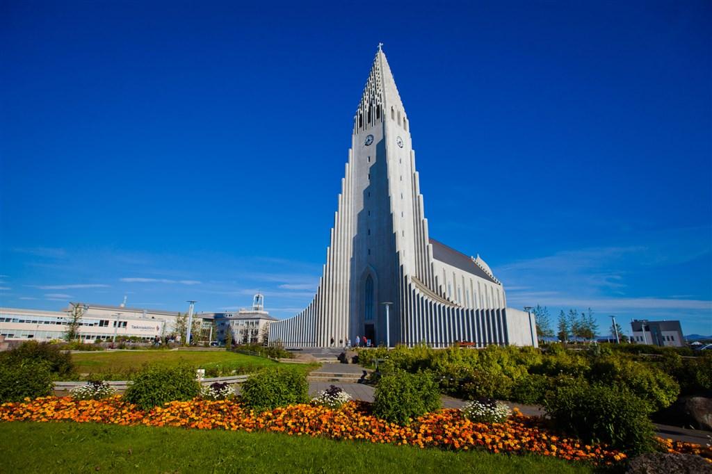 katedrála HALLGRIMSKIRKJA - Reykjavik - Island