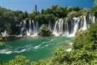 vodopády Kravica - Chorvatsko