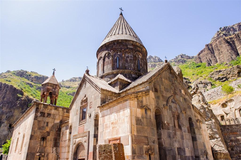 klášter Geghard Kotayk - Arménie