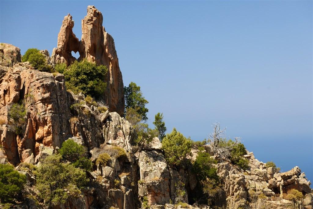 Calanche - západní pobřeží Korsiky