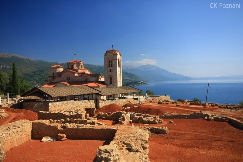 Makedonie-Ohrid-Sveti Pantelejmon