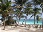 pláž v Tulum