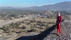 Teotihuacán - Pyramida měsíce - Mexiko