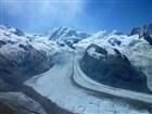 Ledovec Gornergletscher