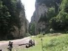 Bílé hory Piatra Craiului, soutěska Prapastiile Za
