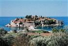 Luxusní hotel na ostrůvku sv.Štefana