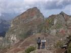 Madeira - treking - sestup z Pico Areiro