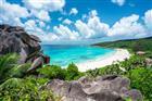 pláž Grand Anse na ostrově La Digue - Seychely