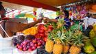 tržiště ve městě Victoria - ostrov Seychely