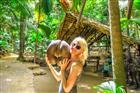 Seychely - Coco de Mer - mořský kokos