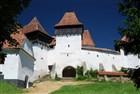 Rumunsko Viscri - opevněný saský kostel