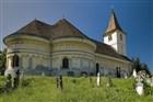 Rumunsko - kostel v Turnu Rosu