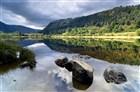 Irsko - Glendalough - horní jezero