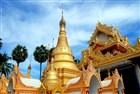 Malajsie - Penang Dhamikarama Burmese Temple