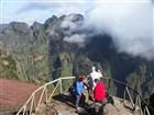 Madeira - pohled z vyhlídky Miradouro Ninhoda da Manta