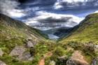 Irsko, Wicklow Mountains, Glendalough
