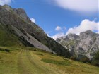 Černá Hora - Komovi - Vrcholky hor v oblacích